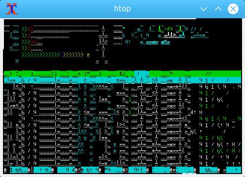 Xterm bug in Linaro - release 19 01 build - DragonBoard410c