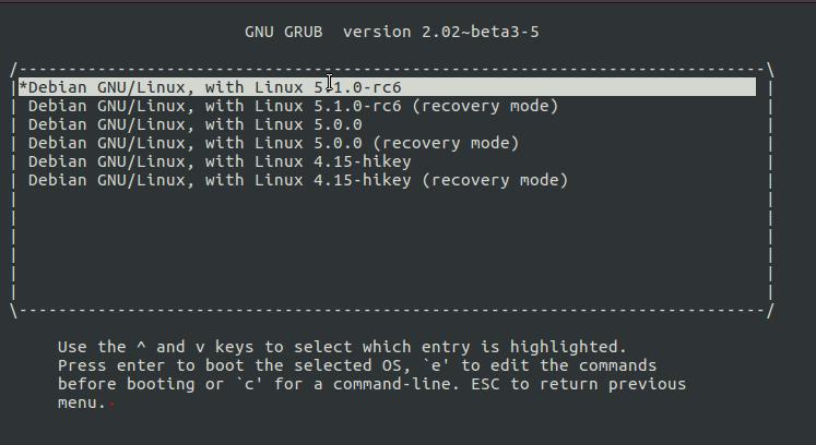 4 19 5 kernel based Debian snapshot image release for